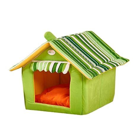 STRIR-Casa de Perro Suave de Productos para Animales de Cama del Perro del Refugio