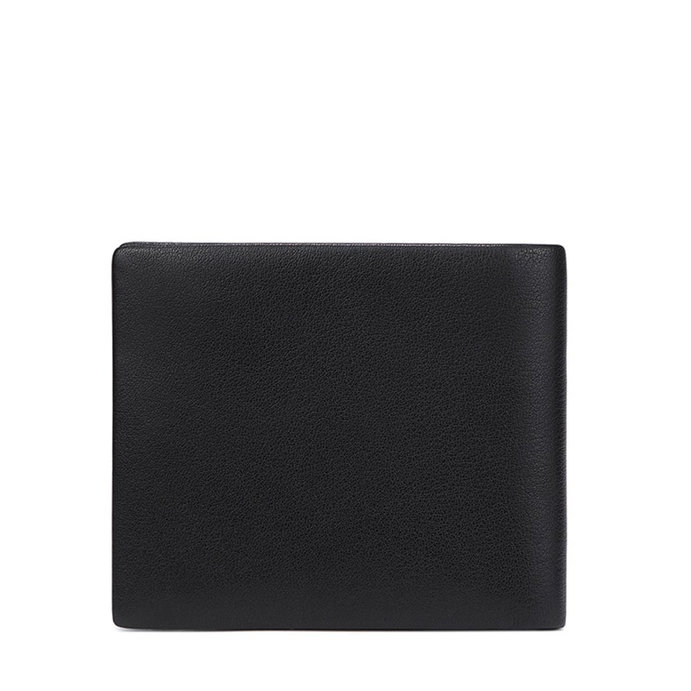 Men's Wallet,Extra Capacity Leather Bifold Wallet Business Stylish-A 12x10cm(5x4inch) by Wangs (Image #2)