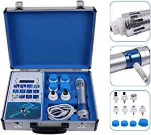 ED Shock Wave Treatment Shockwave Therapy Machine 7 Transmitters Effective Physical Shock Wave Pain Relief Acoustic ED Pain Removal Machine for Erectile Dysfunction with Carry Box