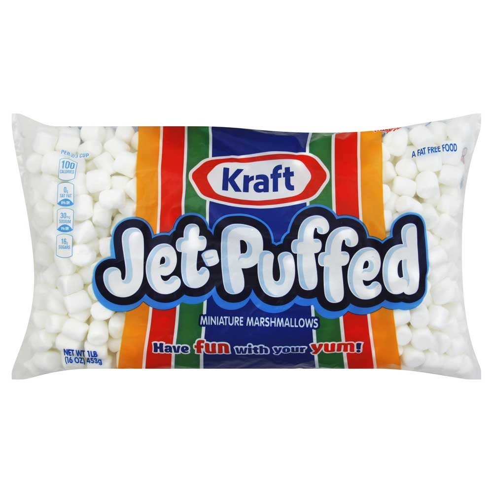 Kraft Jet-Puffed Miniature Marshmallows - 12 Pack