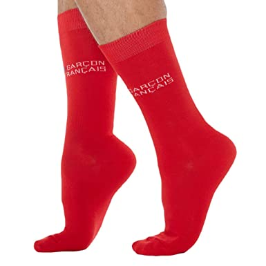 cb9c5c022c0 Chaussettes Rouges  Amazon.fr  Vêtements et accessoires