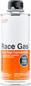 Race Gas 100016 Premium Race Fuel Concentrate Increases Gasoline Up to 105 Octan (10)