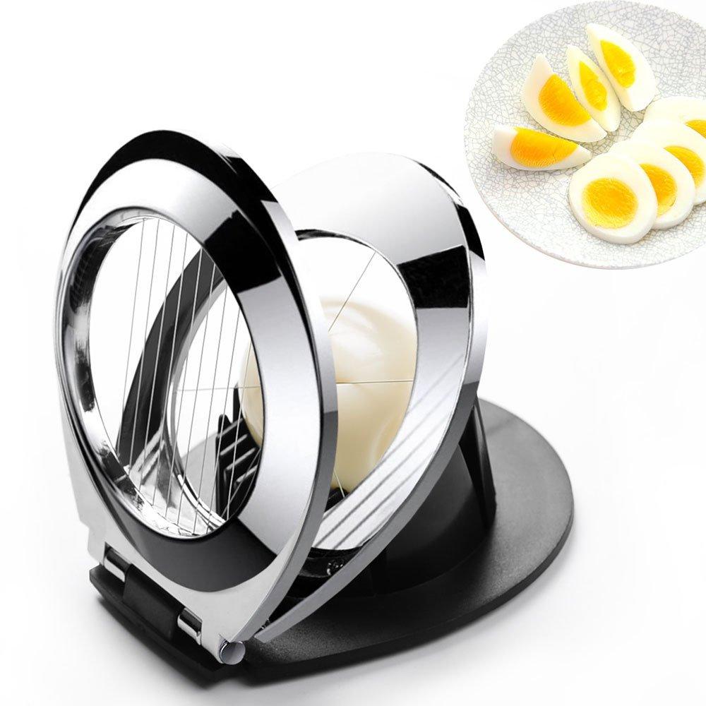 FENGMAI Stainless Steel Egg Slicer Egg Cuter Kitchen Gadget FNG069