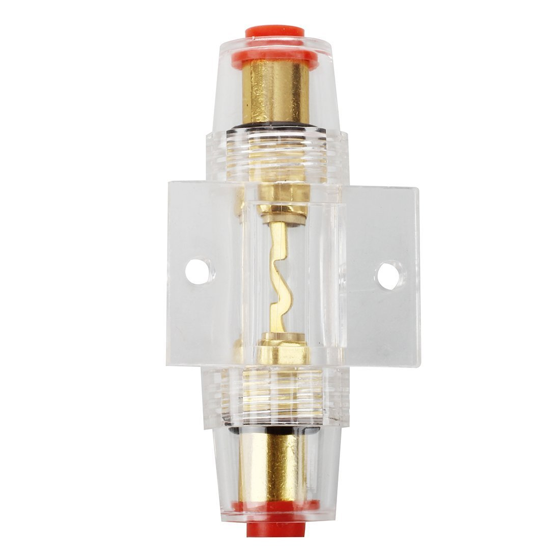 TOOGOO(R) 4/8 Gauge Holder Agu Fuse 80A Car Audio Parte Elettronica LEPACA1393