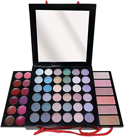Gloss - caja de maquillaje, caja de regalo para mujeres - Paleta de Maquillaje - 54 Pzs: Amazon.es: Belleza