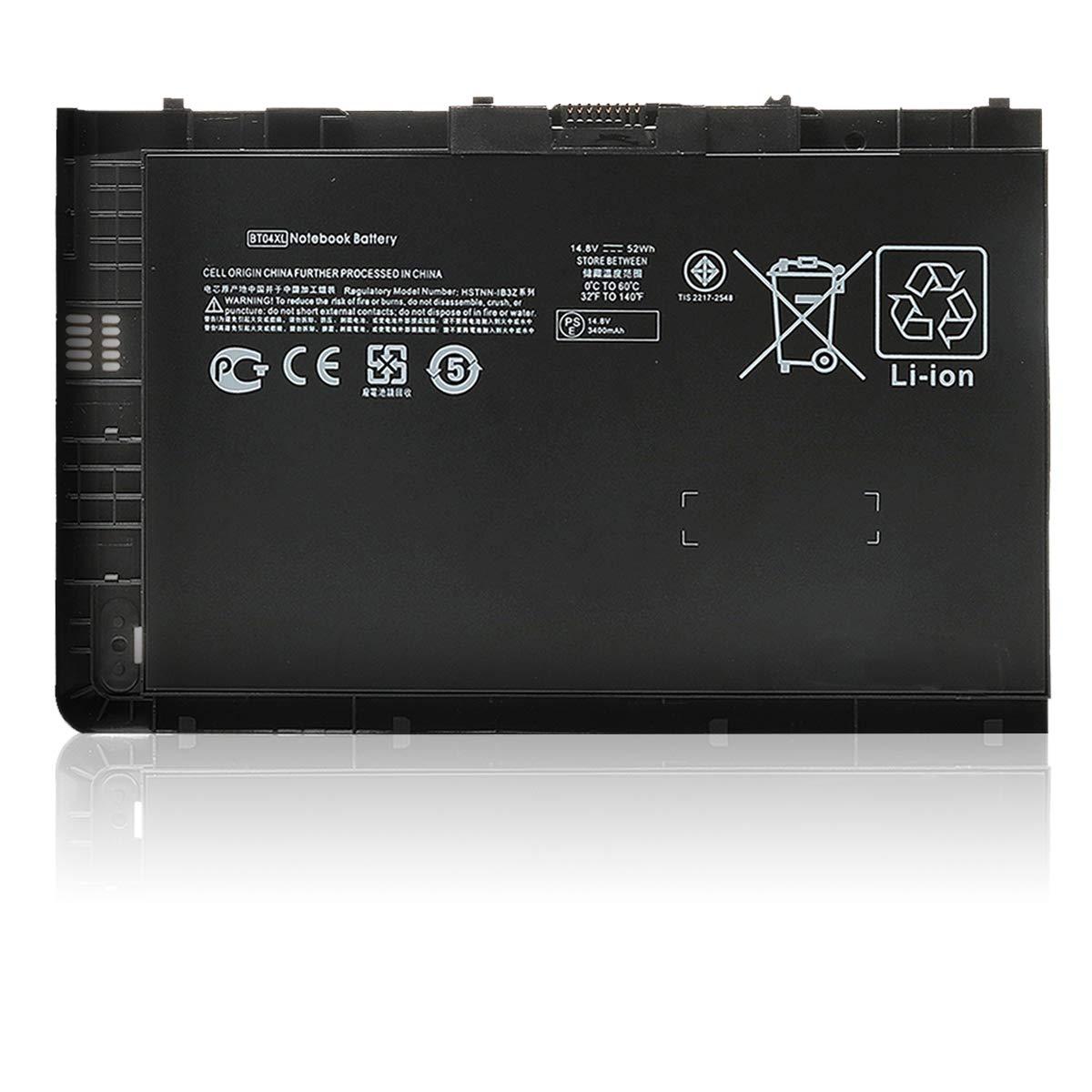 Bateria Bt04 Bt04xl Para Hp Elitebook Folio 9470 9470m Series Ba06 Ba06xl 687945-001 696621-001 H4q47aa H4q48aa Hstnn-i1