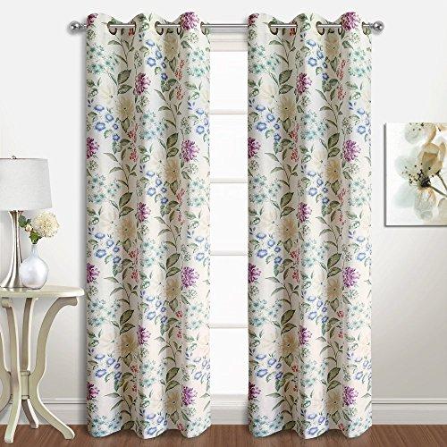 United Curtain Christine Window Curtain Valance, 78 x 18 , Multi