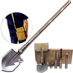 Outdoor Garden Tools Military Portable Folding Shovel Survival Emergency Ca H2V8