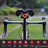 【夜の空】xlite100 自転車用テールライト USB 充電 と防水ブレーキ/ライトセンサー付き - 自動照明/デザイン、フルCNCシャーシ 自動点灯 自転車ライト
