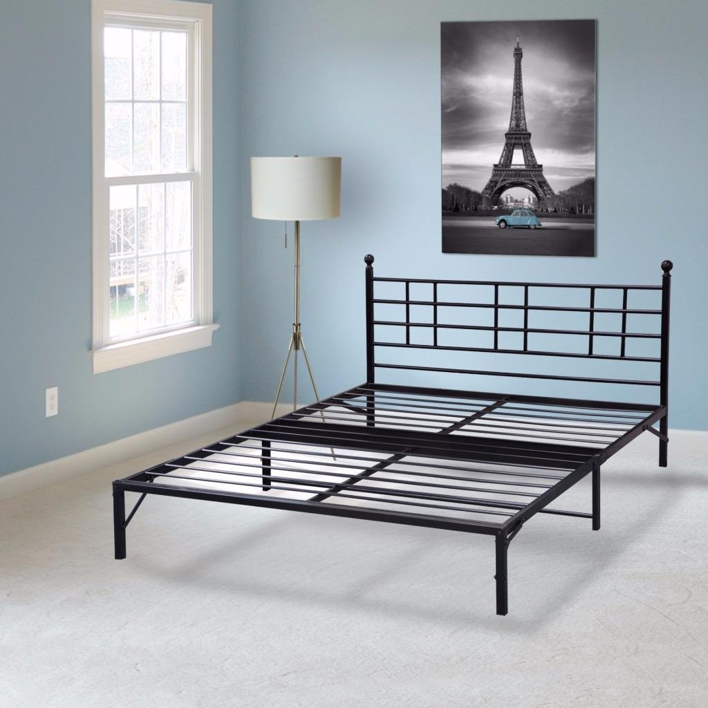 Amazon.com: Best Price Mattress Model L Easy Set-up Steel Platform ...
