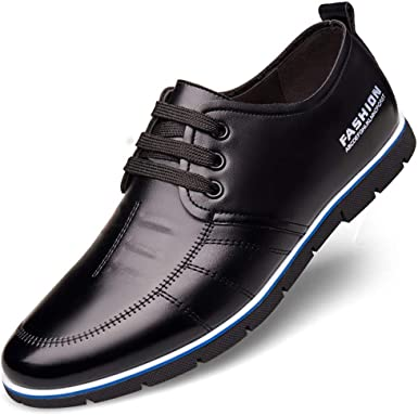 Men's Leather Sneakers Fashion Dress