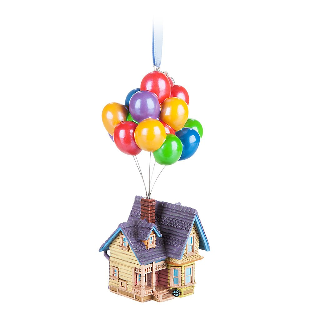 Up House Balloons Amazoncom Disney Up House Ornament Home Kitchen