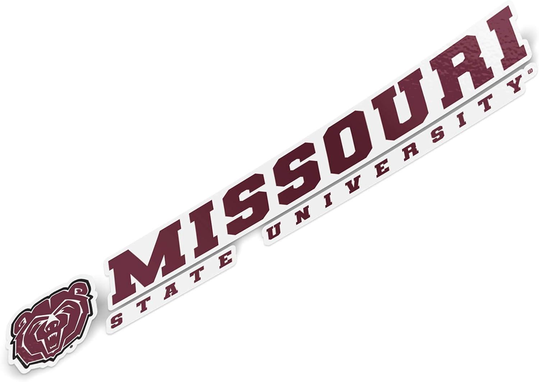 State Boarder Sticker Missouri State University MSU Bears NCAA Vinyl Decal Laptop Water Bottle Car Scrapbook