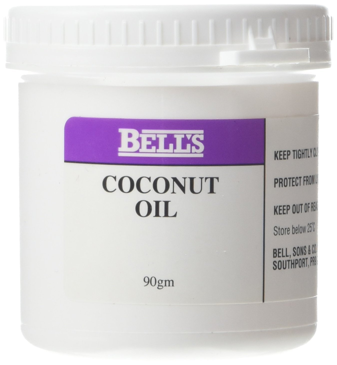 Bells 90 g Coconut Oil - Pack of 3 BEL0293M