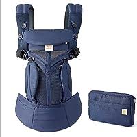 Omin 360 Cool Air Mesh Ergonomic Baby Carrier (Dark Blue)