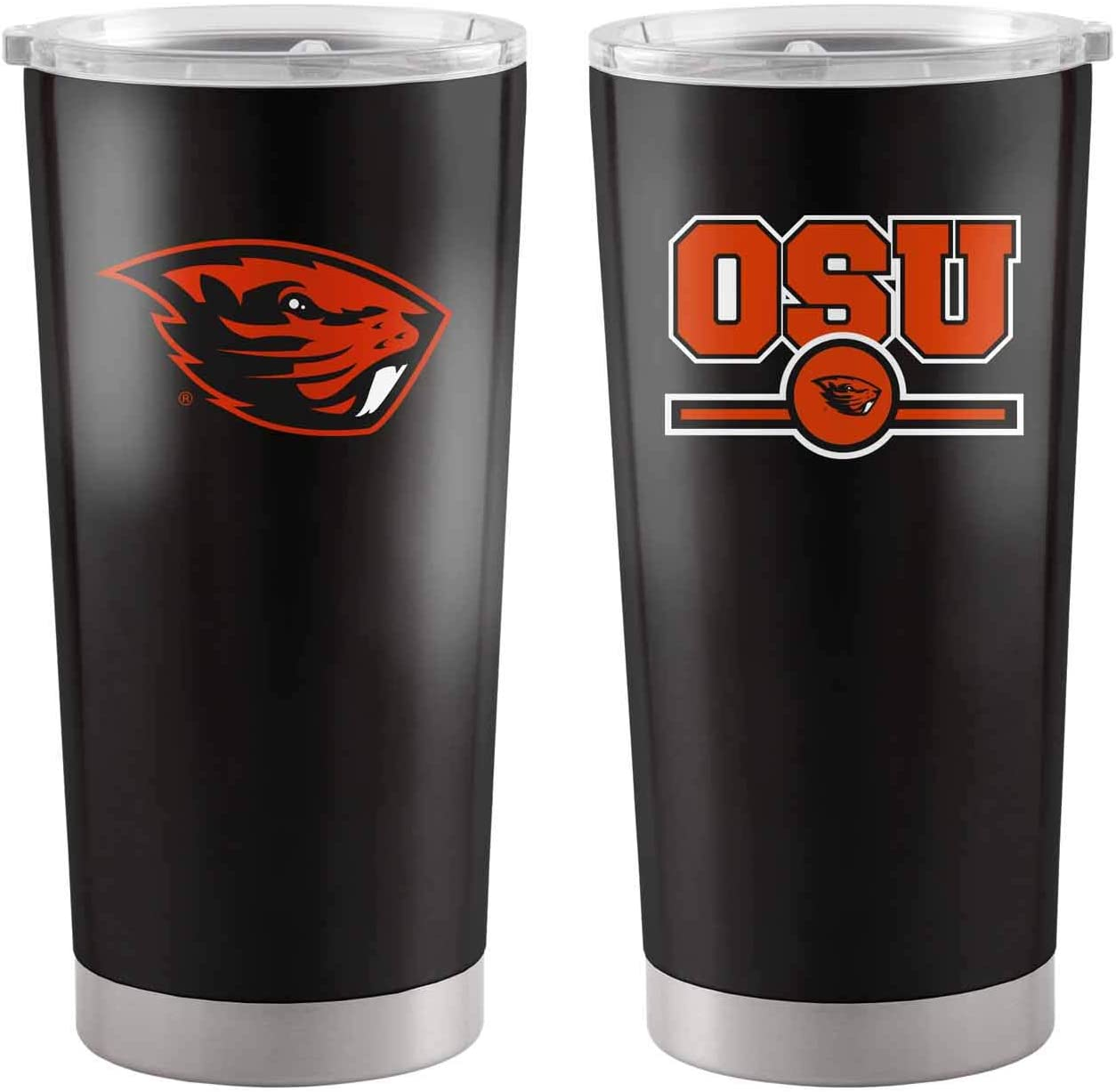 Logo NCAA 20 oz Overtime Insulated Stainless Steel Coffee and Travel Tumbler