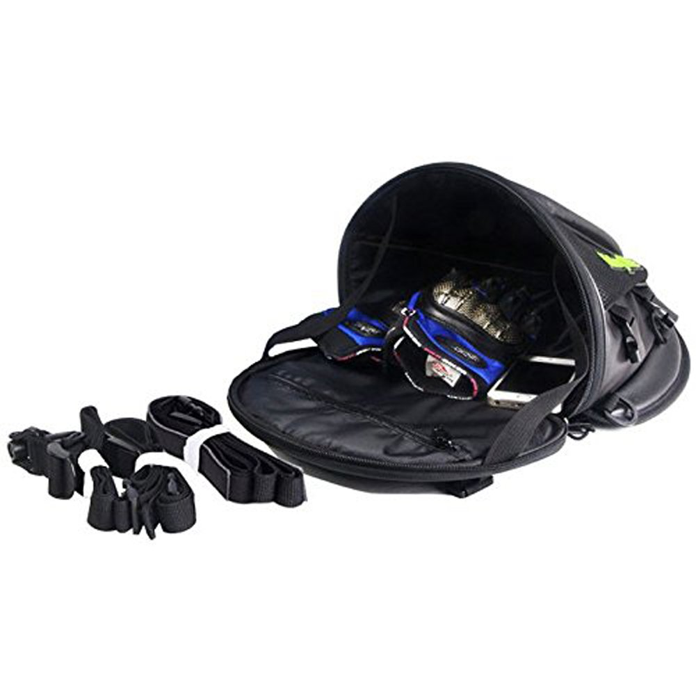 The new bajaj pulsar rs200 has had bajaj s cash registers singing ever - Amazon Com Riding Tribe Motorcycle Tail Bag Multifunctional Waterproof Backpack Pu Leather Luggage Riding Backseat Rear Storage Bag Automotive