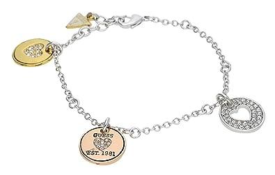 7b6cfa8ff257 Guess - UBB81146 - Bracelet Femme - Métal  Amazon.fr  Bijoux