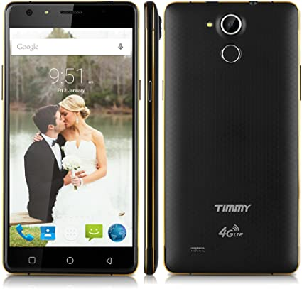 Timmy P7000 Pro Smartphone 4 G 5.5 Pulgadas HD LTE Mobile táctil teléfono portátil Android 5.1 ID MT6735P Quad Core 2 GB RAM + 16 GB ROM Smart Gesture OTG Doble SIM: Amazon.es: Electrónica