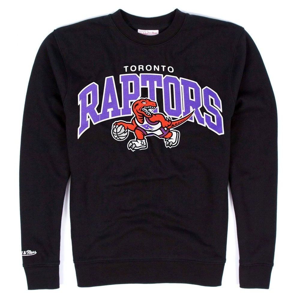aab6d6b69d04 Mitchell & Ness Toronto Raptors equipo Arch Crew neck NBA sweat-shirt negro  negro Talla:xx-large: Amazon.es: Deportes y aire libre