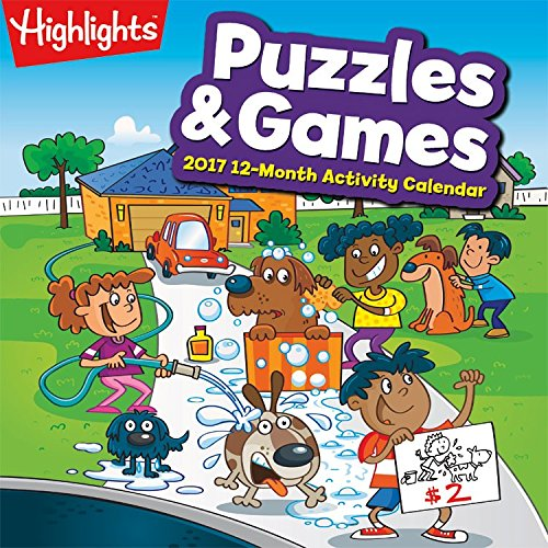 Puzzles And Games 2016 Wall Calendar By Trends International