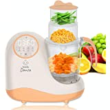 Baby Food Maker Chopper Grinder - Mills and Steamer 8 in 1 Processor for Toddlers - Steam, Blend, Chop, Disinfect, Clean, 20