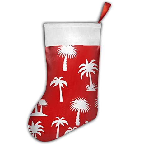 christmas holiday stockings palm tree christmas stockings christmas decorations gift - Palm Tree Christmas Decorations