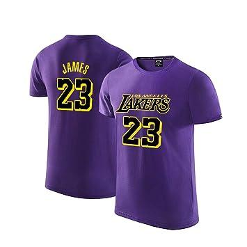 L.A Lakers James #23 Camiseta Hombres Jóvenes Name Number Deportes ...