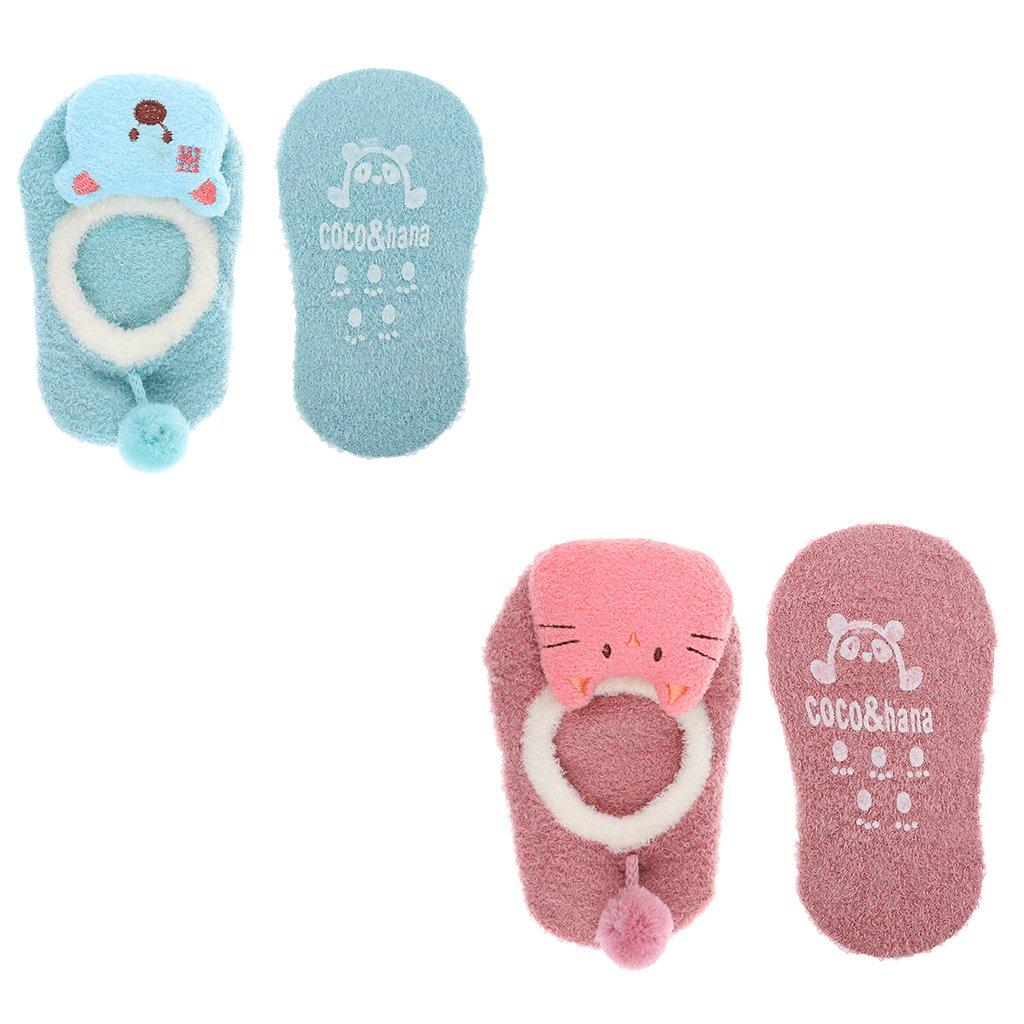MonkeyJack uper Kawaii Cartoon Ankle WarmToddler Socks for 2-4 Years Old Toddler Kids