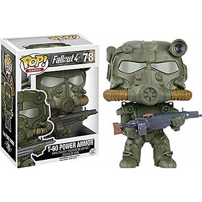 Funko Pop Fallout: Green T-60 Power Armor Collectible Figure, Multicolor: Toys & Games
