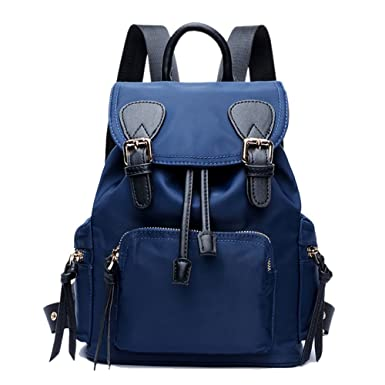 fc2263f0a0 YiYiNoe Womens Drawstring Mini Backpack Purse with Chain Straps Vintage  Rucksack Casual Daypack Travel Shoulder Bag