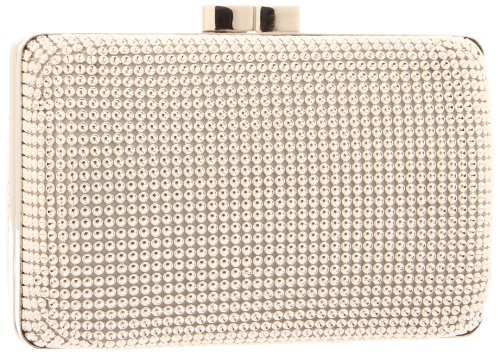 Whiting & Davis Dimple Mesh Minaudiere 1-5832SV Clutch,Silver,One Size by Whiting & Davis
