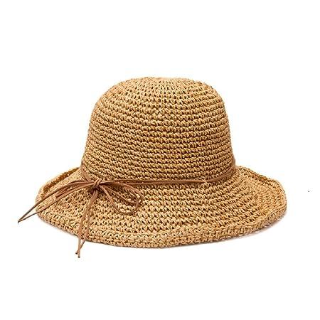 4673b47e6a8 Gespout straw hat leisure sun hat beach hat Summer outdoor play ladies