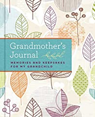 The perfect gift for your grandmother (ideal for Mother's Day and birthday giving), this beautiful keepsake memory book is designed to capture and preserve grandmother's unique memories, from the days of her own childhood through the precious...