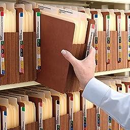 Smead End Tab TUFF File Pocket, Reinforced Straight-Cut Tab, 5-1/4\