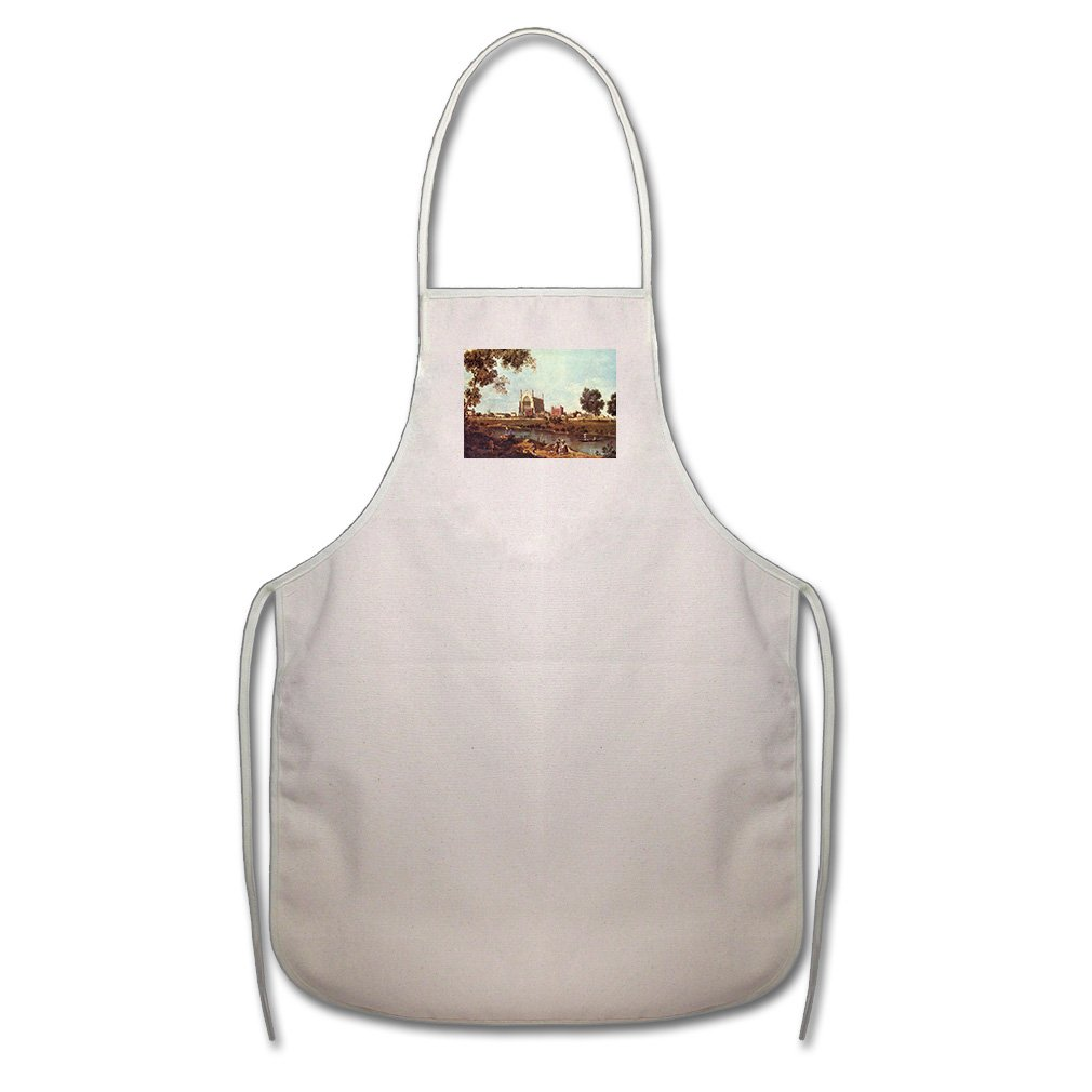 Style in Print Eton College (Canaletto) Cotton Canvas Duck Artist Cook Apron