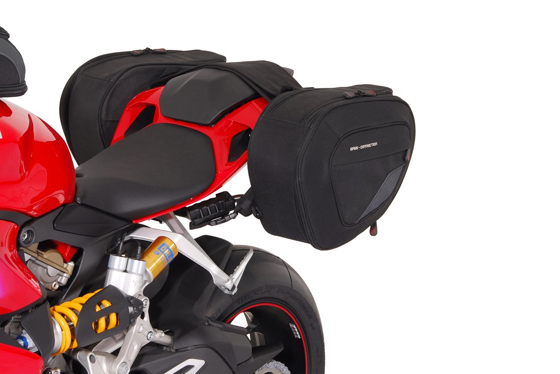 SW-MOTECH Bags-Connection Blaze Sport Saddlebag System for Ducati 1199 Panigale '12-'15 & 899 Panigale '14-'15