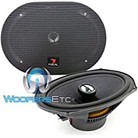 690CA1 - Focal 6 x 9 Access Coaxial Speakers with Grills