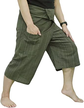 Amazon.com: Thai Pescador pantalones Yoga pantalones última ...