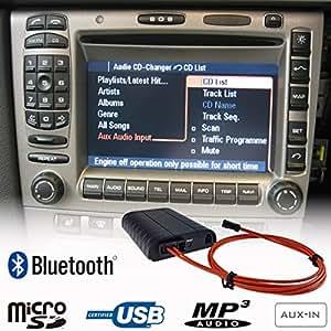 Amazon.com: Bluetooth A2DP Handsfree USB SD AUX MP3 WMA