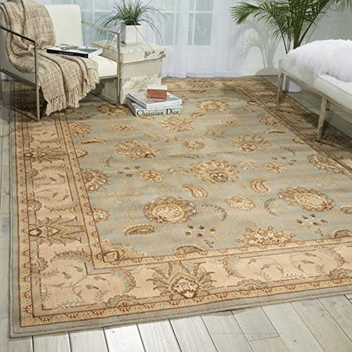 Nourison Persian Empire Aqua Rectangle Area Rug