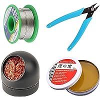 Soldeerbout Tip Cleaner, Micro Shear Wire Cutter Tang, Soldeer Wire Lead Free, 4 STKS Soldeer Tool Set, Soldeerbout…