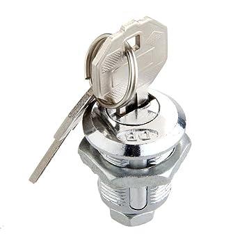 ASTrade CAM Lock para Puerta Gabinete Buzón Cajón Taquilla Teclas Forcer Seguridad Home Locks Cerradura 18