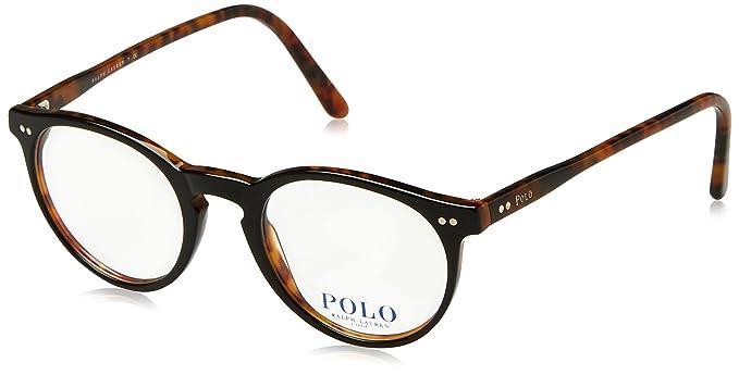 ed1be5401f2 Polo PH2083 Eyeglasses 5260 Top Black Havana 46-20-145  Amazon.co.uk   Clothing
