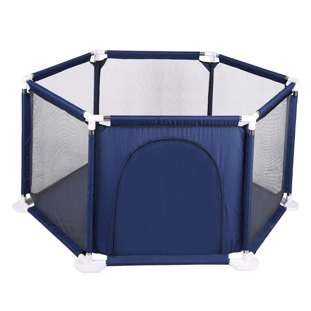新作人気 ベビーフェンス 六角形の落下抵抗ベビーサークル (色、ベビープレイフェンス、子供の遊び場、室内ベビーベッド保護フェンス (色 : Playpen) Playpen Playpen Playpen) B07PSF2S1T, カーテン本舗:42487eb3 --- a0267596.xsph.ru
