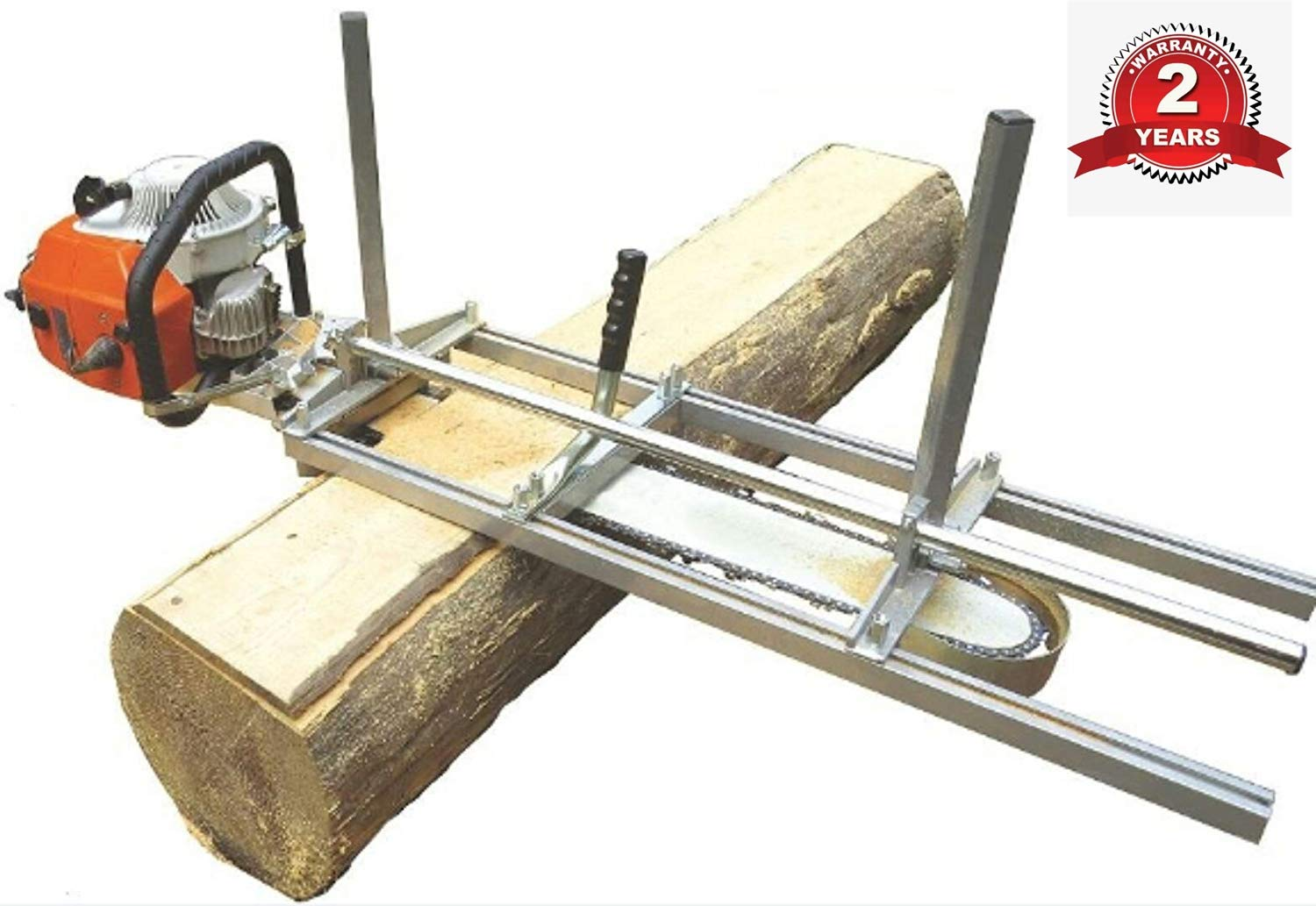 TTF Chainsaw Mill Attachment Chainsaw Milling Planking Milling Bar Planking Cutting Guide Bar Chainsaw Mill Guide Sawmill For Chainsaw Portable Chain Sawmill Attachment (14''-36'') by TTF