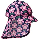 Jojo Maman Bebe Baby Girls' Sun Protection Hat, Floral, 0 12 Months