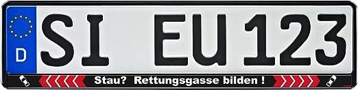 Kennzeichenhalter Freistaat Bayern f/ür 520x110mm Kennzeichen