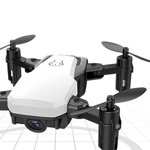 Lorenlli Quadcopter con cámara Plegable Selfie Drone Altitude ...