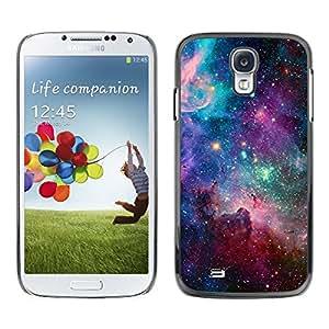 Cielo Universo Estrellas Cosmos nebulosa del trullo - Metal de aluminio y de plástico duro Caja del teléfono - Negro - Samsung Galaxy S4
